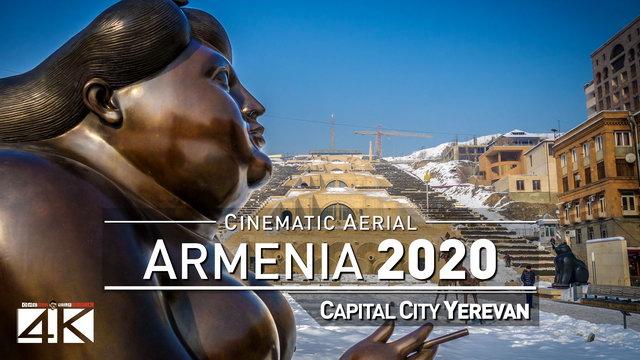 4K Drone Footage YEREVAN (Armenia) [DJI Phantom 4]