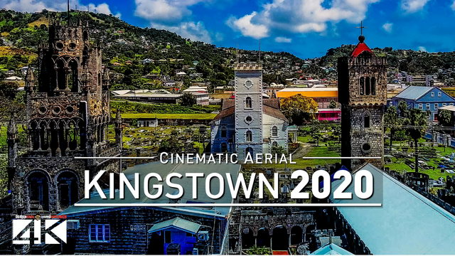 【4K】Drone Footage | Kingstown - Capital of Saint Vincent & Grenadines 2019 .: Cinematic Aerial Film