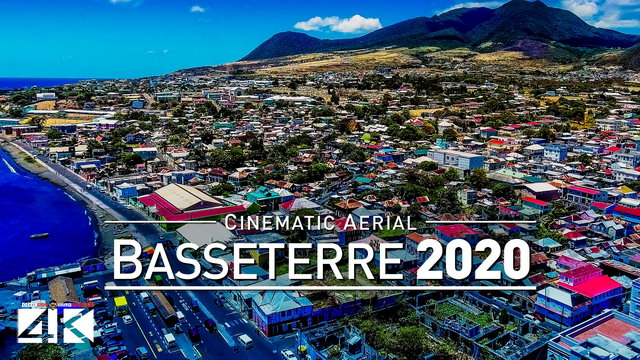 【4K】Drone Footage | Basseterre - Capital of Saint Kitts and Nevis 2019 ..:: Cinematic Aerial Film
