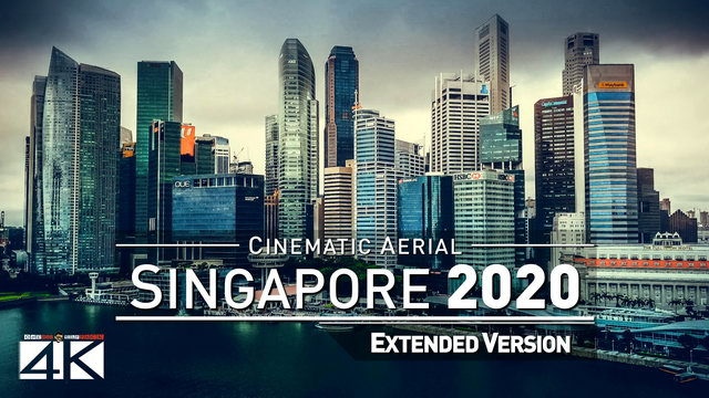 【4K】Drone Footage | The Beauty of Singapore in 18 Minutes 2019 | Cinematic Aerial Marina Bay Sentosa