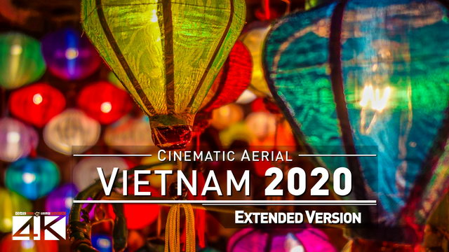 【4K】Drone Footage | The Beauty of Vietnam in 37 Minutes 2019 | Cinematic Aerial Saigon DaNang Hoi An