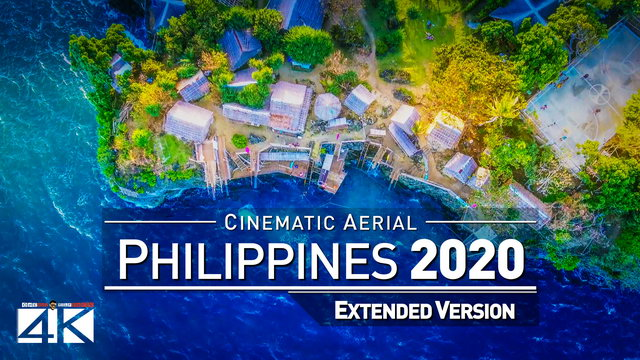 【4K】Drone Footage | The Beauty of Philippines in 11 Minutes 2019 | Cinematic Aerial Boracay Cebu KLO