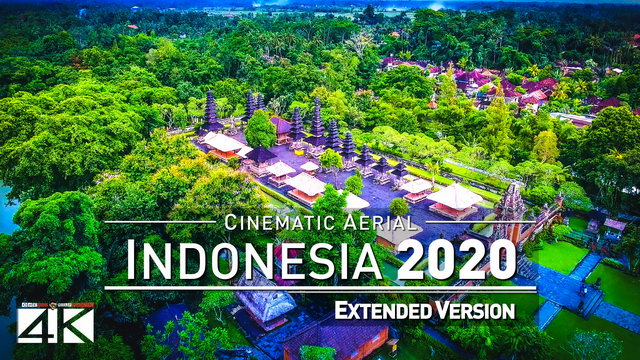 【4K】Drone Footage | The Beauty of Indonesia in 12 Minutes 2019 | Cinematic Aerial Bali Lombok Gilis