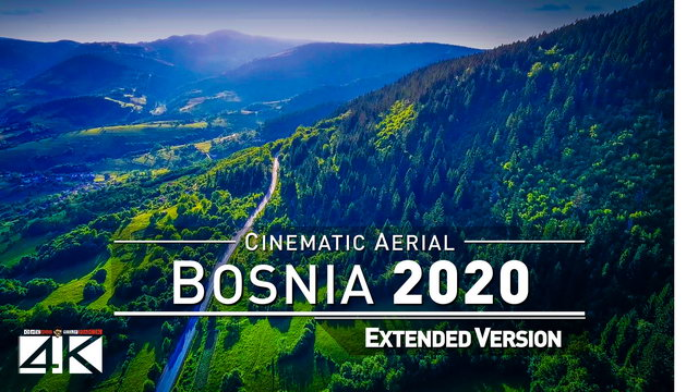 【4K】Drone Footage | The Beauty of Bosnia Herzegovina in 12 Minutes 2019 | Cinematic Aerial Sarajevo