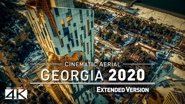 【4K】Drone Footage | The Beauty of Georgia in 15 Minutes 2019 | Cinematic Aerial Tbilisi Batumi Cauc.