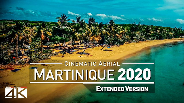 【4K】Drone Footage | The Beauty of Martinique in 8 Minutes 2019 | Cinematic Aerial Fort-de-France FRA