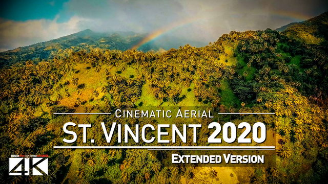 【4K】Drone Footage | The Beauty of Saint Vincent and Grenadines in 8 Minutes 2019 | Cinematic Aerial