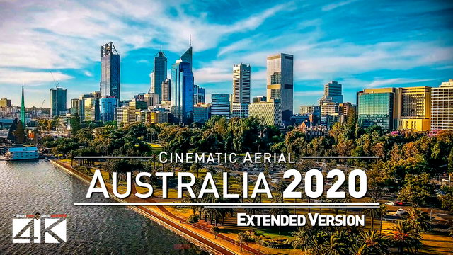 【4K】Drone Footage | The Beauty of Australia in 21 Minutes 2019 | Cinematic Aerial WA Perth Esperance