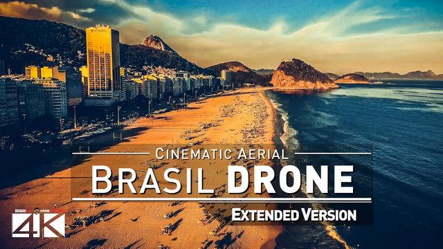 【4K】Drone Footage | Rio de Janeiro vs. Sao Paulo | BRAZIL 2019 ..:: Cinematic Aerial Film Carioca SP