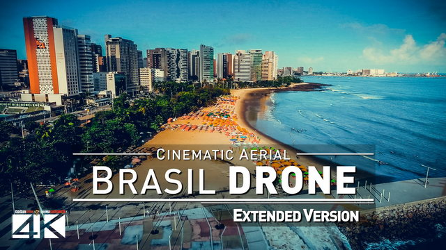 【4K】Drone Footage | Fortaleza X Recife X Salvador | Northeast Brazil 2019 ..:: Cinematic Aerial Film