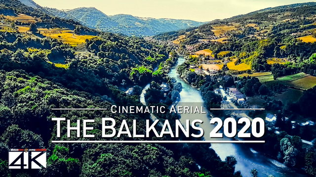 【4K】Drone Footage | The Beauty of The Balkans in 14 Minutes 2019 | Cinematic Aerial Film