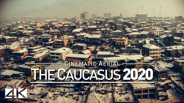 【4K】Drone Footage | The Beauty of The Caucasus in 14 Minutes 2019 | Cinematic Aerial Film GE AM Iran
