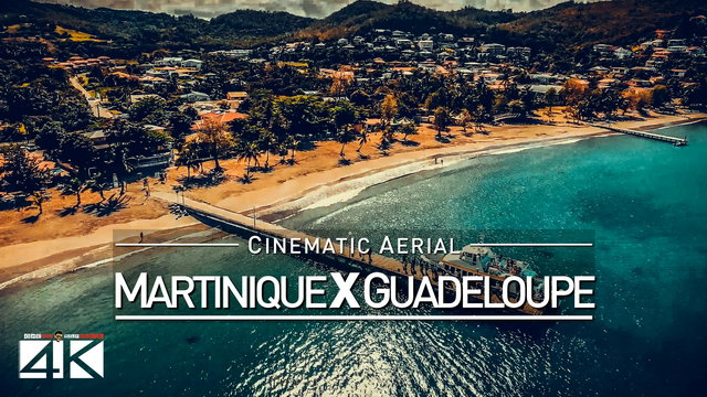 【4K】Drone Footage | Martinique X Guadeloupe | CARIBBEAN 2019 ..:: Cinematic Aerial Film