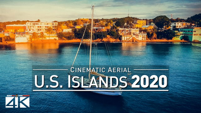 【4K】Drone Footage | U.S. OVERSEAS Puerto Rico X American Virgin Islands 2019 | Cinematic Aerial Film