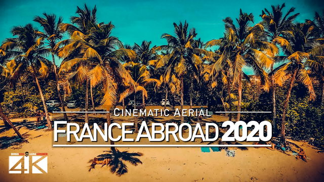 【4K】Drone Footage | OVERSEAS FRANCE | French Guiana X Martinique X Guadeloupe X Saint-Martin CINEMA.