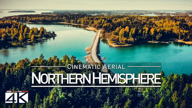 【4K】Drone Footage | The Northern Hemisphere 2019 ..:: Cinematic Aerial Film | Norway Greenland Faroe
