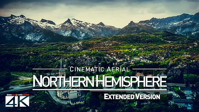 【4K】Drone Footage | The Northern Hemisphere *EXTENDED* 2019 .: Cinematic Aerial Film | Norway & More