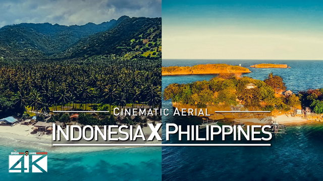 【4K】Drone Footage | Philippines X Indonesia 2019 ..:: Cinematic Aerial Film | Boracay vs Bali Lombok