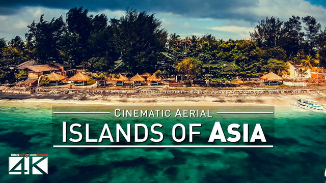 【4K】Drone Footage | ASIAs ISLANDS 2019 | Boracay Langkawi Ko Phangan Lombok Penang Bali Gili Taiwan