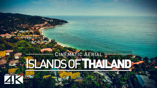 【4K】Drone Footage | THAILANDs ISLANDS 2019 ..:: Cinematic Aerial Film | Ko Phangan Ko Samui Koh Tao