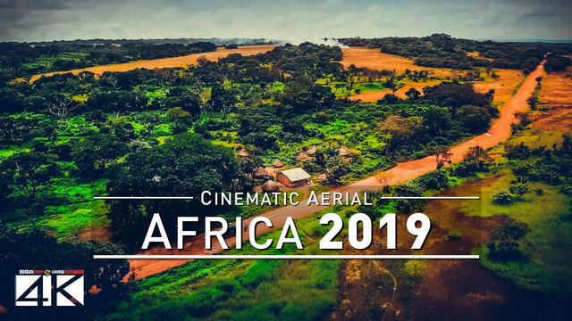【4K】Drone Footage | The Beauty of AFRICA in 25 Minutes 2019 | Cinematic Aerial Film