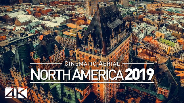 【4K】Drone Footage | The Beauty of NORTH AMERICA in 55 Minutes 2019 | Cinematic Aerial Film