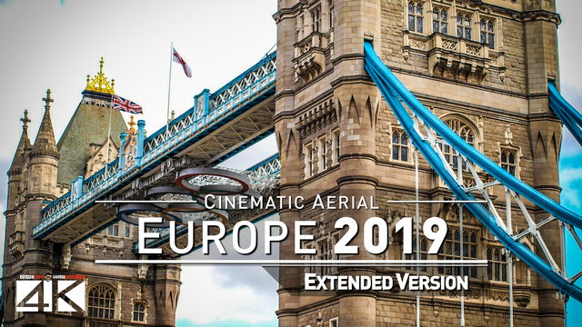【4K】EUROPE as you have never seen before 2019 | 101 Cinematic Minutes Aerial Film