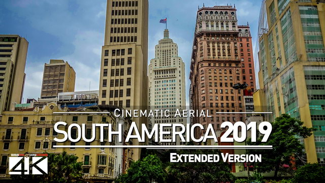【4K】SOUTH AMERICA as you have never seen before 2019 | 2 ½ Cinematic Hours Aerial Film