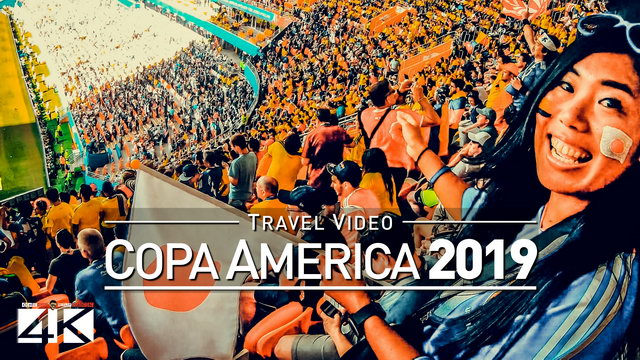 【4K】Groundhopping Footage | Copa America 2019 *TRAILER* | 10 Days till Kick-Off in Brazil [Vlog #1]