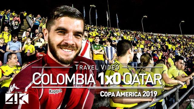 【4K】Groundhopping | Colombia X Qatar [1 x 0] 2019-06-19 | COPA AMERICA | Morumbi, Sao Paulo / Brazil