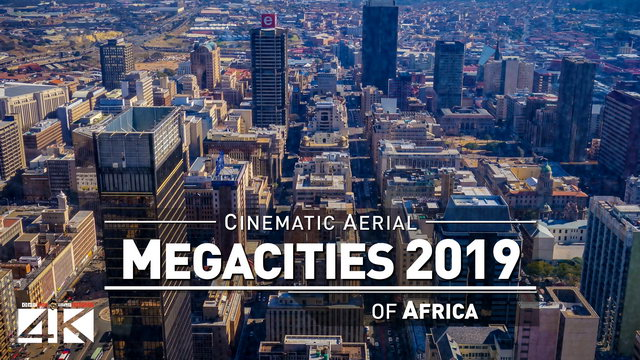 【4K】Drone Footage | 5 MEGACITIES of Africa 2019 ..:: Cinematic Aerial Film