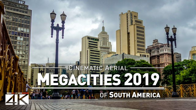 【4K】Drone Footage | 11 MEGACITIES of South America and Oceania 2019 ..:: Cinematic Aerial Film