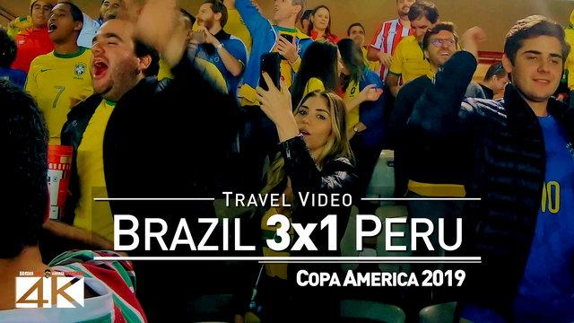 【4K】Groundhopping | Brazil X Peru [3 x 1] 2019-07-07 | COPA AMERICA Final | Maracana, Rio de Janeiro