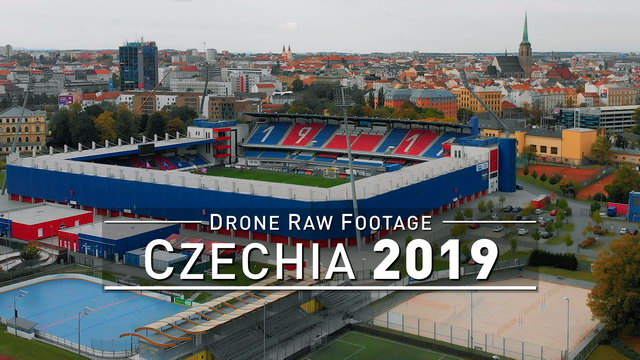 【4K】Drone RAW Footage | CZECH REPUBLIC 2019 ..:: Pilsen :: CZECHIA | UltraHD Stock Video