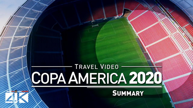 【4K】Groundhopping | That was the COPA AMERICA 2019 in BRAZIL | Visiting 6 Matches | Vai Brasil