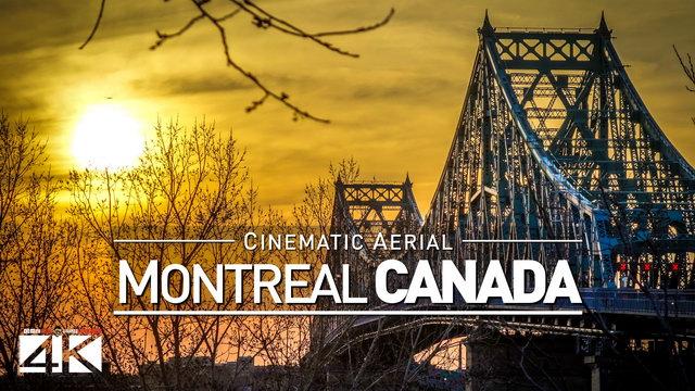 TRAILER :: 4K Drone Footage MONTREAL (Canada) [DJI Phantom 4]