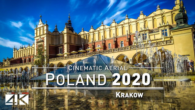 【4K】Drone Footage | Krakow - POLAND 2019 ..:: Cinematic Aerial Film | Wawel Castle | Cracow Polska