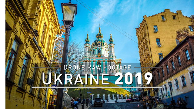 【4K】Drone RAW Footage | UKRAINE 2019 ..:: Kiev | Odessa | Zatoka | Black Sea :: UltraHD Stock Video