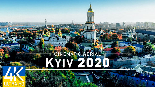 【4K】Drone Footage | Kiev - Capital of UKRAINE 2019 ..:: Cinematic Aerial Film | Kyiv Київ Киев