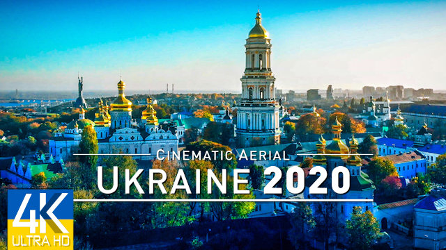【4K】UKRAINE from Above 2020 | Украина, Киев Kyiv | Cinematic Aerial Film | 436