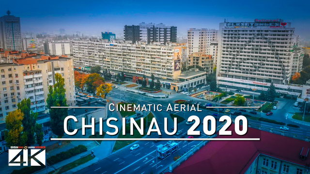 【4K】Chisinau from Above - Capital of MOLDOVA 2020 | Cinematic Aerial Film
