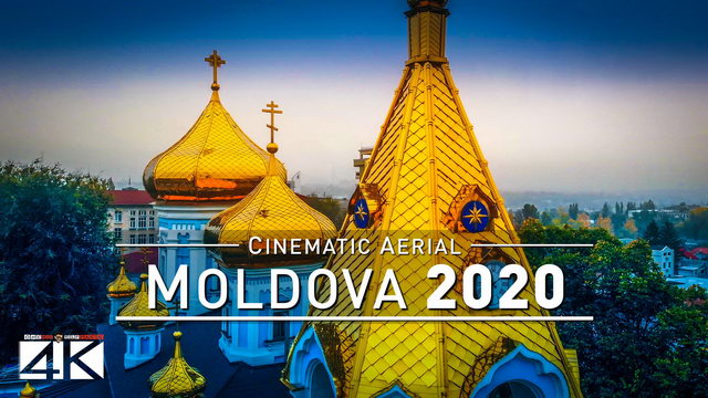 【4K】MOLDOVA from Above 2020 | Chisinau | Tiraspol | Cinematic Aerial Film