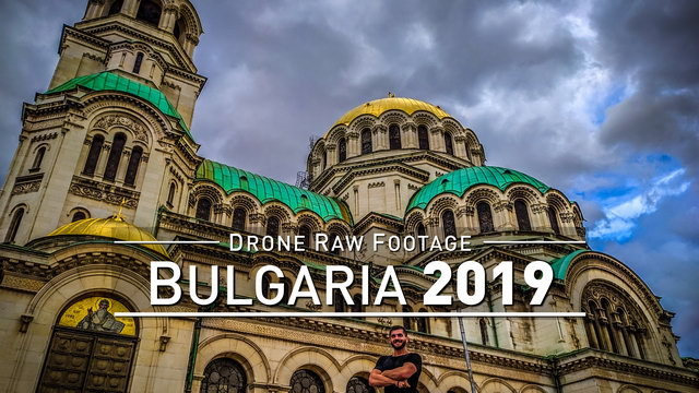 【4K】Drone RAW Footage | BULGARIA 2019 ..:: Sofia | Capital :: UltraHD Stock Video