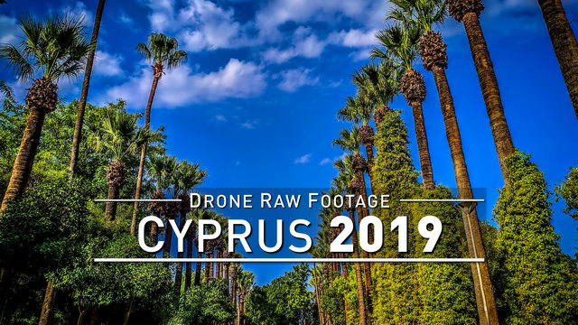 【4K】Drone RAW Footage | CYPRUS 2019 ..:: Petra tou Romiou | Akamas | Athalassa | UltraHD Stock Video
