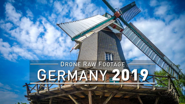 【4K】Drone RAW Footage | This is GERMANY 2020 | Baden-Wuerttemberg | Oehringen | UltraHD Stock Video