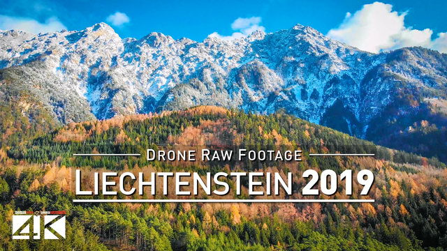 【4K】Drone RAW Footage | This is LIECHTENSTEIN 2020 | Vaduz | Schaan | UltraHD Stock Video