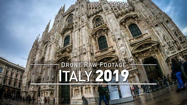 【4K】Drone RAW Footage | This is ITALY 2020 | Rimini | Milan | UltraHD Stock Video