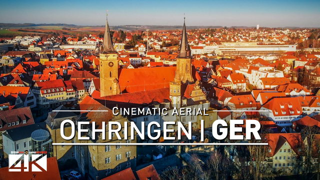 【4K】Drone Footage | Oehringen from Above - GERMANY 2020 | Cinematic Aerial Film