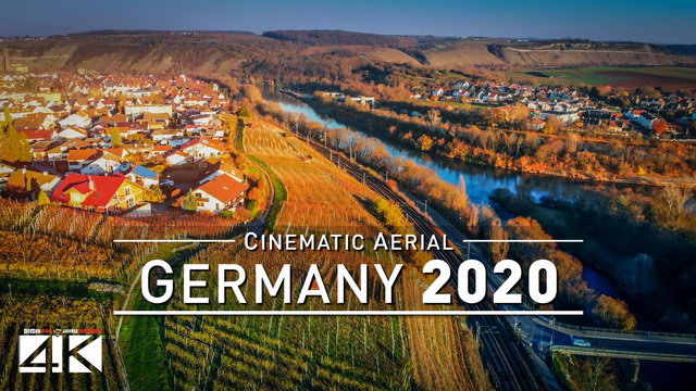 【4K】Drone Footage | GERMANY from Above 2020 | Cinematic Aerial Film | 451
