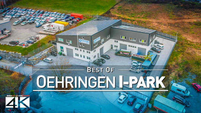 【4K】Oehringen Industry Park A6 - GERMANY 2020 | Cinematic Presentation